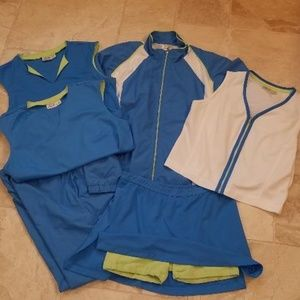 Tail Tennis Outfit - 6 pcs.
